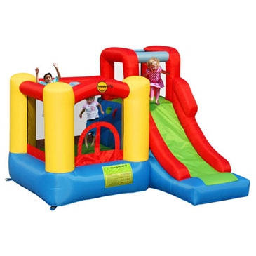 luchtkasteel jumping castle happy hop