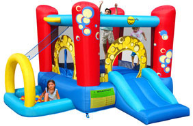springkussen 4 in 1 play center bubble
